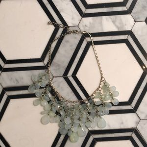 Sea-foam Statement Necklace